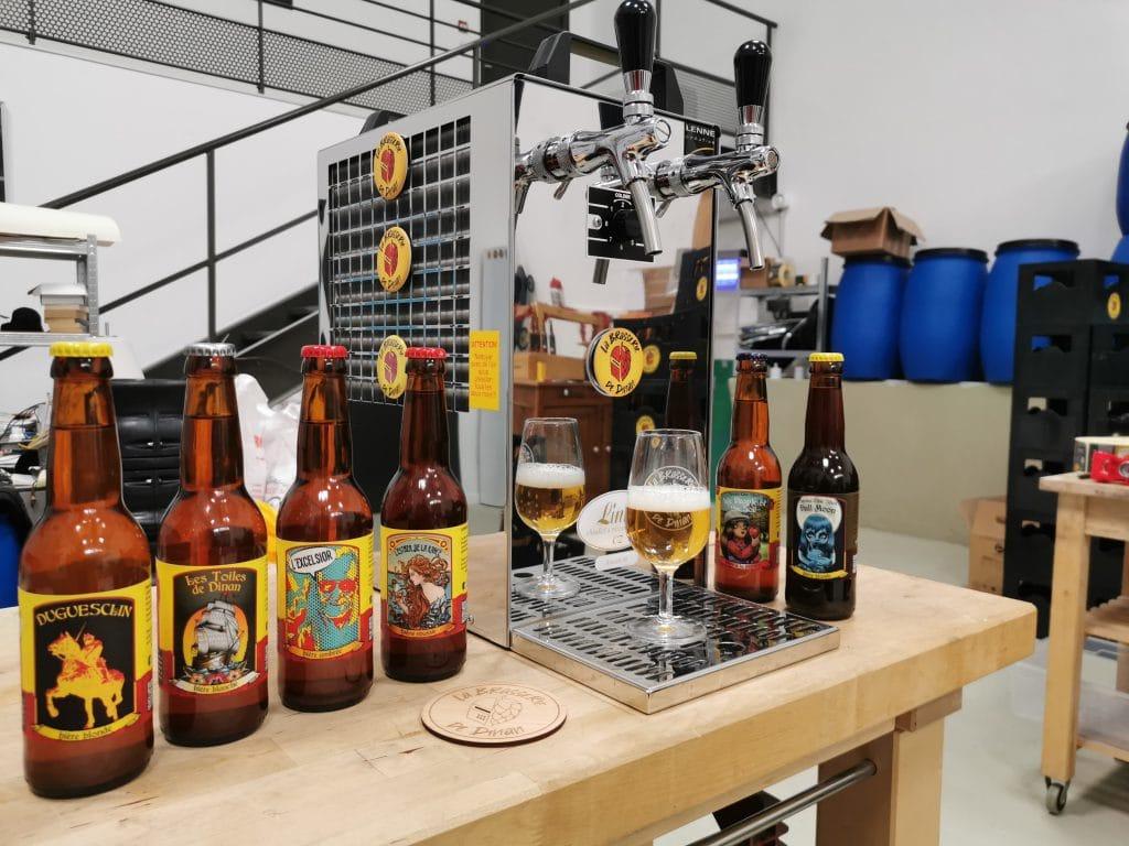 Bières de la brasserie de Dinan