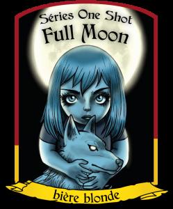 Visuel Full Moon - bière blonde - La Brasserie de Dinan