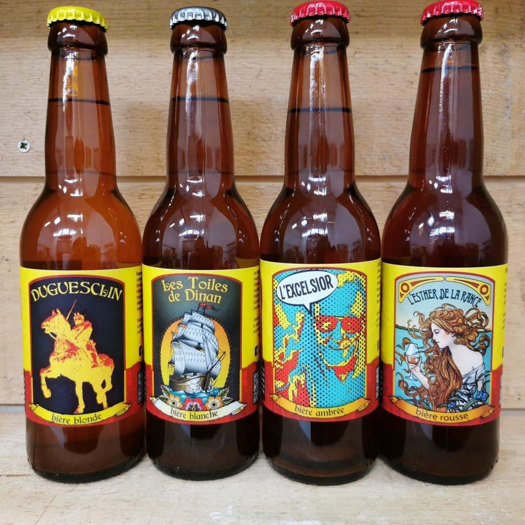 Gamme permanente - bières de dinan - la brasserie de Dinan