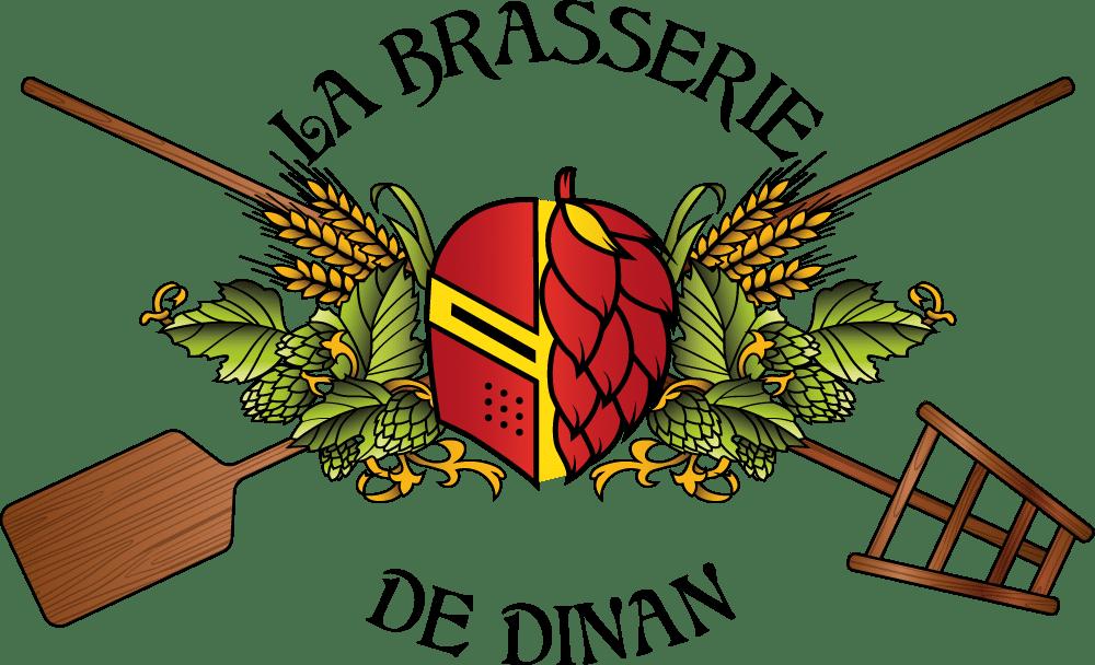 logo la brasserie de dinan - feuillage