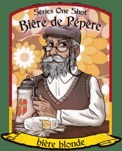 bière de pepere_ one shot 2021 - la brasserie de dinan